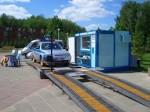 Передвижная линия технического осмотра легковых автомобилей ЛТК-4Л-СП-16