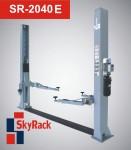 SR-2040E Автомобильный двухстоечный электрогидравлический подъёмник (электр.разблокировка