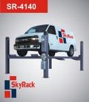 SR-4140 Автомобильный четырехстоечный электрогидравлический подъемник