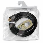 Кабель зажима массы 500: собранный, 4 м, кабель Ø 50 мм², тиски-зажим массы, коннектор 35/50