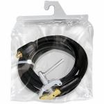 Кабель зажима массы 600: собранный, 4 м, кабель Ø 70мм², тиски-зажим массы, коннектор 35/50
