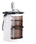 Комплект с насосом PumpMaster 3+3, коэффициент сжатия 60:1, для бочек 185 кг