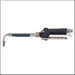 Пистолет для раздачи масла с гибким наконечником 90° и автоматическим каплеотсекателем