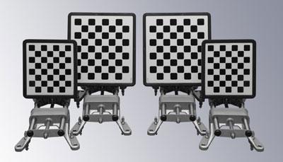 Мишени для стенда сход-развал Техно Вектор 7